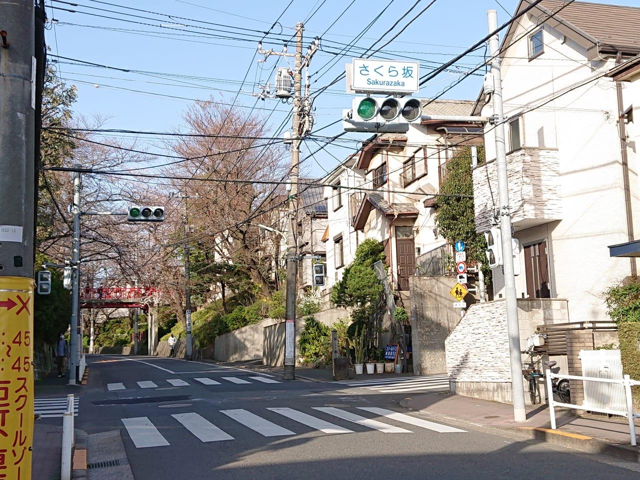 桜坂までの道
